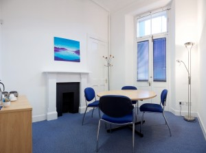 Interview room at Capital Business Centre