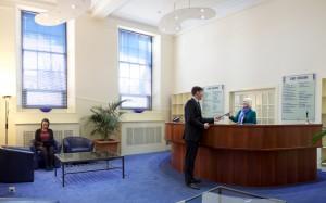 Capital Business Centre Reception